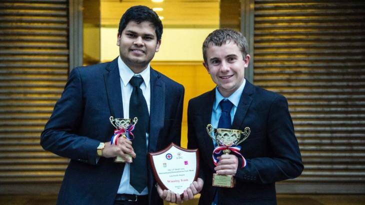 惠灵顿维多利亚大学代表队夺得第十三届亚太区红十字国际人道法模拟法庭竞赛冠军