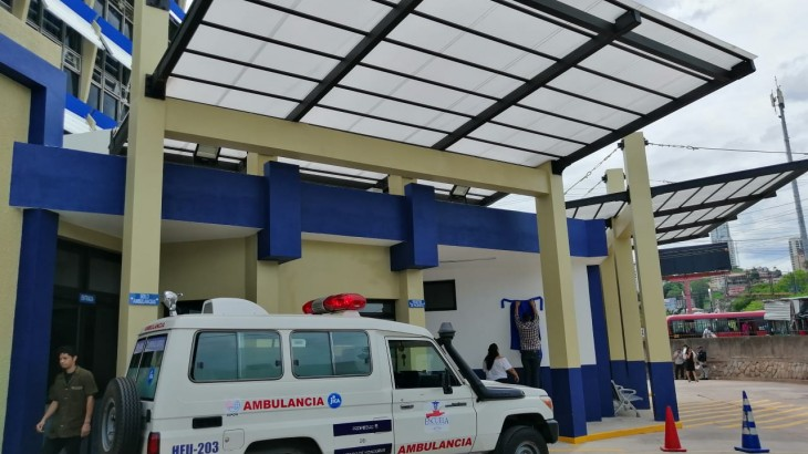 Honduras: puesta en marcha de nuevo sistema de triaje para atender las urgencias en el Hospital Escuela