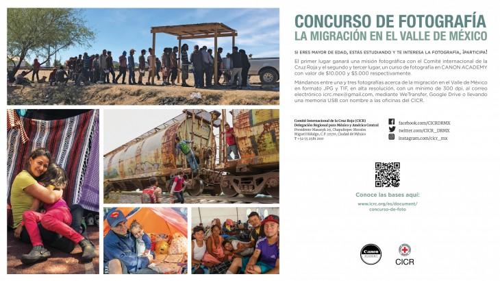 Primer concurso de fotografía documental con enfoque humanitario promovido por CANON y el CICR