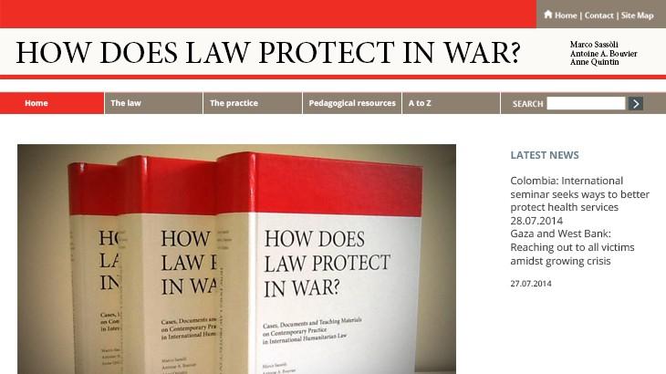 《战争中的法律保护》在线平台