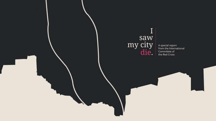 "Special report: </br> ""I saw my city die"""