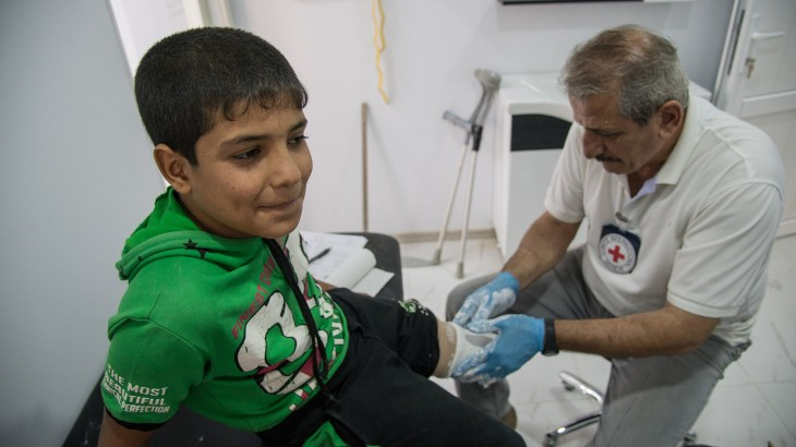 Mosul: New physical rehabilitation centre gives hope to amputees