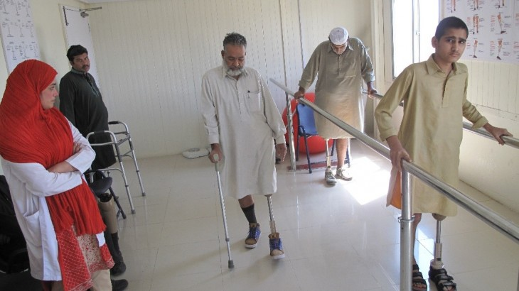 ICRC hands over 3 physical rehab centres to Indus Hospital Network