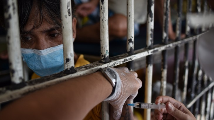 Philippines: Pilot project improves TB control in Quezon City Jail