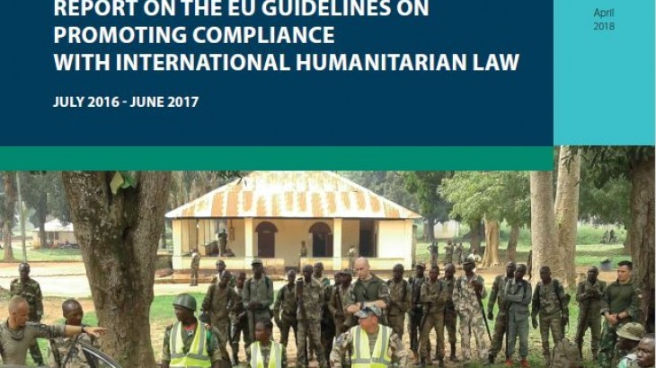 UE : promotion du droit international  humanitaire