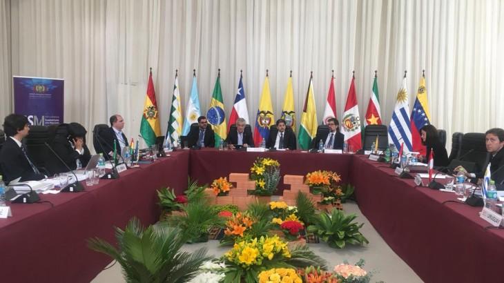 CICR participó en la XVIII Conferencia Suramericana sobre Migración