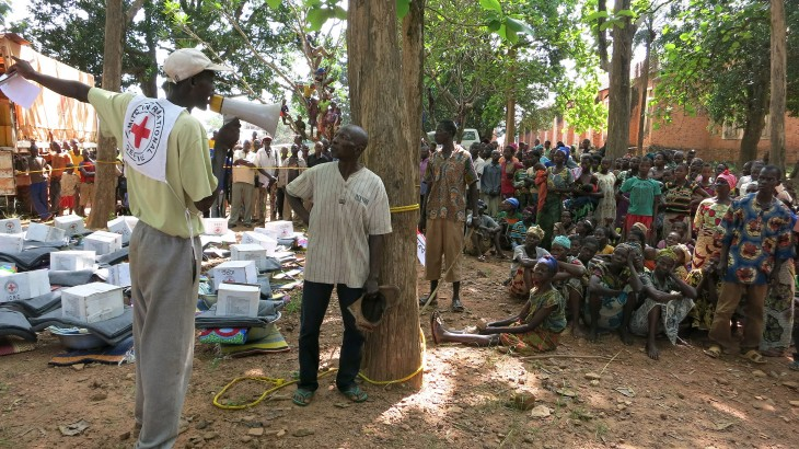 Central African Republic: Aid for more than 14,000 people in Kaga Bandoro