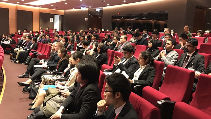 香港:第十五届亚太地区红十字国际人道法模拟法庭竞赛开幕