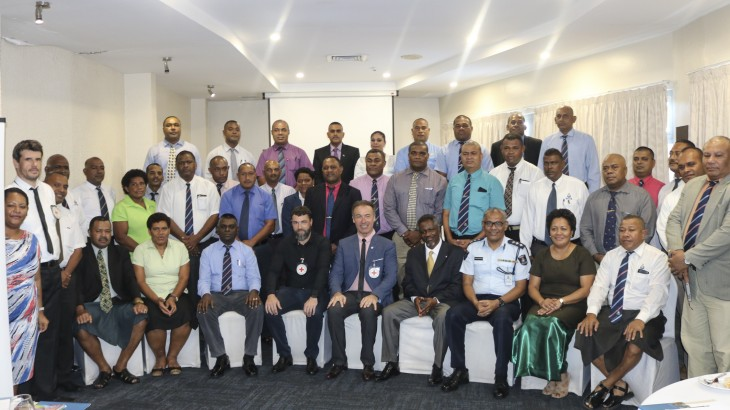 Fiji: ICRC workshops for police officers on international rules and standards