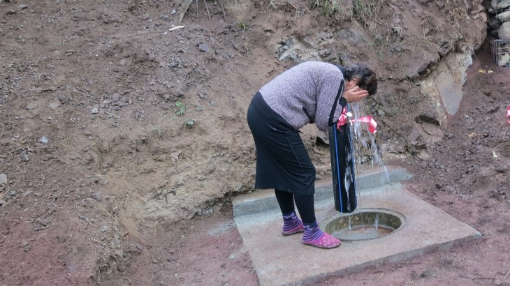 Armenia: Drinking water for villagers in border area