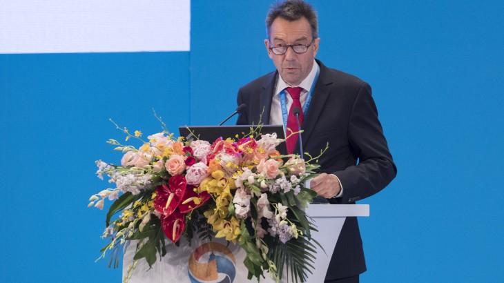 """红十字国际委员会主席彼得·毛雷尔在""""一带一路""""国际合作高峰论坛上的演讲"""