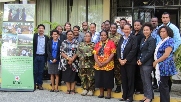 Papua New Guinea: Officials increase awareness of laws of war