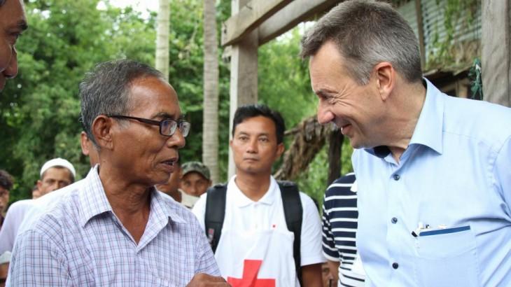 ICRC President Peter Maurer calls Bangladesh-Myanmar crises