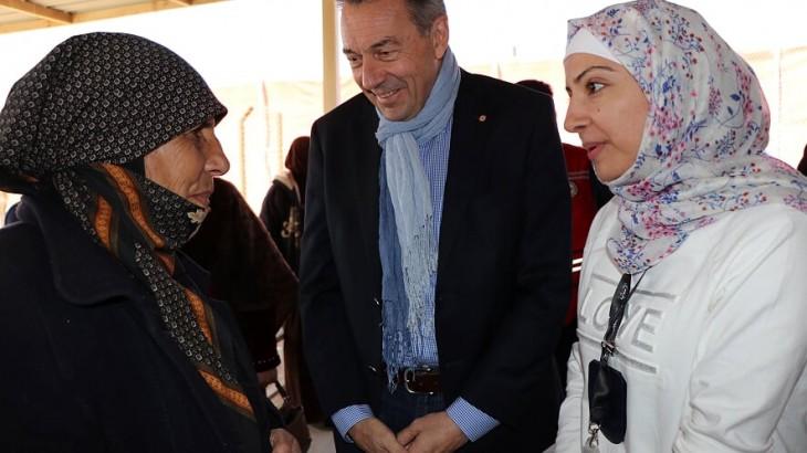 الأردن: رئيس اللجنة الدولية للصليب الأحمر يختتم زيارته الرسمية