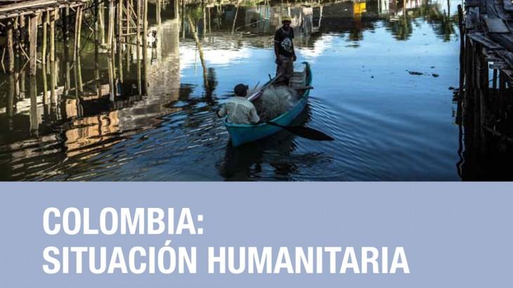 Informe: situación humanitaria en Colombia 2014 y perspectivas 2015