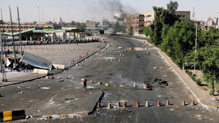 مع تزايد الاحتجاجات العنيفة في أنحاء العراق، تدعو اللجنة الدوليّة للصليب الأحمر إلى ضبط النفس
