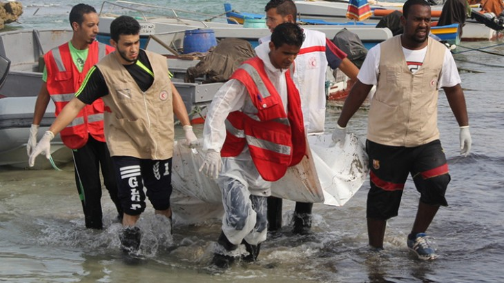 Libyan Red Crescent: Tending to migrants who don't survive their journey