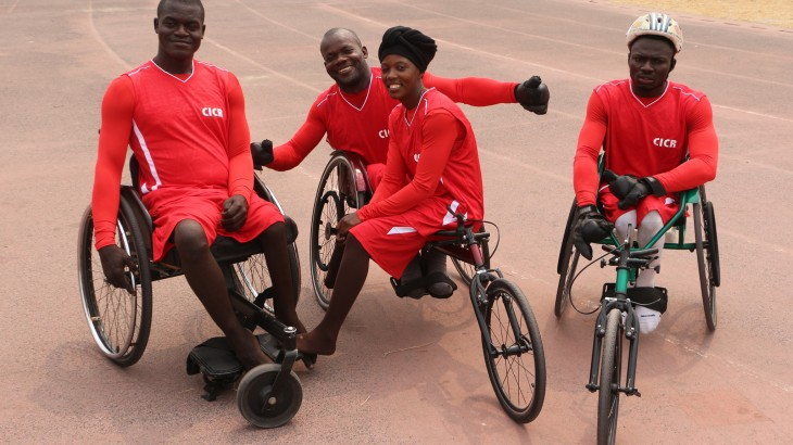 Democratic Republic of the Congo: On track for the Rio Paralympics