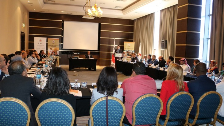 Jordan: First regional meeting on restoring family links