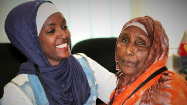Jordan: A mother and daughter make contact after two years apart