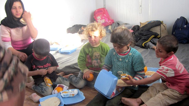 约旦:叙利亚难民的人道需求激增