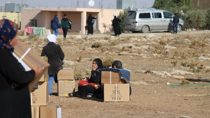Jordan: ICRC Activity report October – December 2016