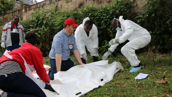 Kenya: ICRC conducts management of the dead training for first responders