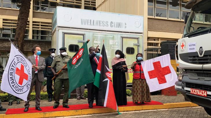 COVID-19 response in Kenya, Djibouti and Tanzania