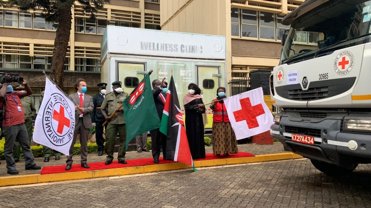 Kenya: Red Cross donates materials for prisons to build quarantine facilities and improve infrastructure amidst threat of COVID-19