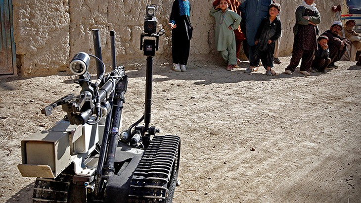 Autonomous weapons: Decisions to kill and destroy are a human responsibility