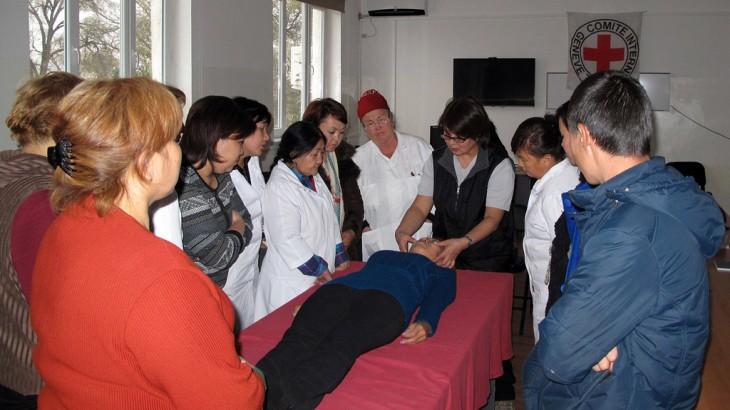 Kyrgyzstan: Prison nurses at Institution 31 get extra training