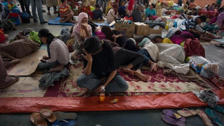 菲律宾:马拉维冲突所致流离失所人群恐面临更多健康威胁