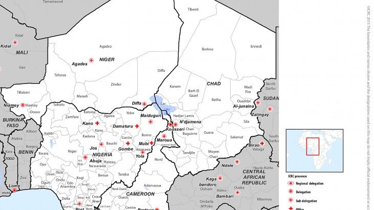 Кризис в районе озера Чад: факты и цифры, январь - сентябрь 2015 г.