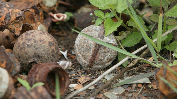 Unexploded ordnance: Awareness campaign makes a difference