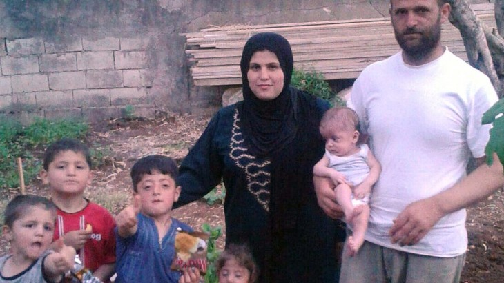 Syrian family escape one war only to fall victim to the legacy of another