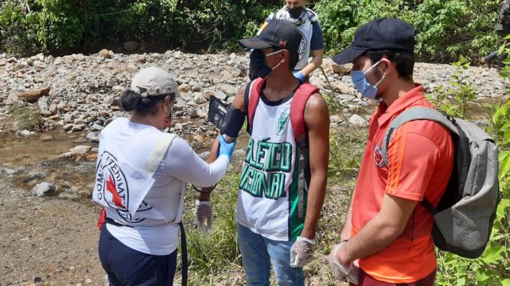 Colombia: liberación de seis personas en Norte de Santander