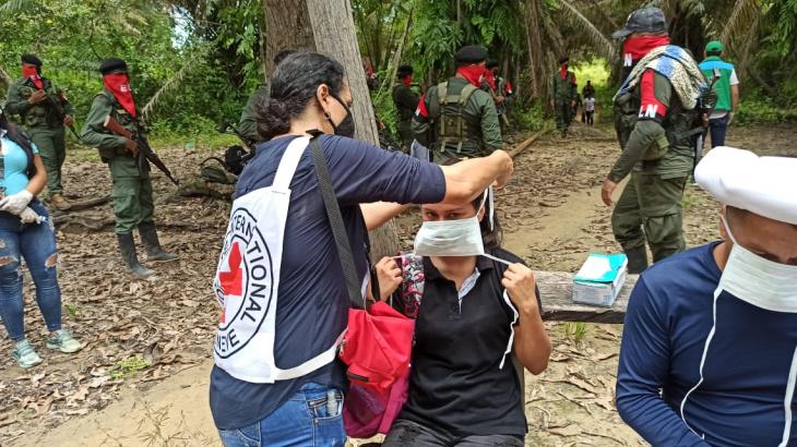 Colombia: tres civiles fueron liberados en Norte de Santander