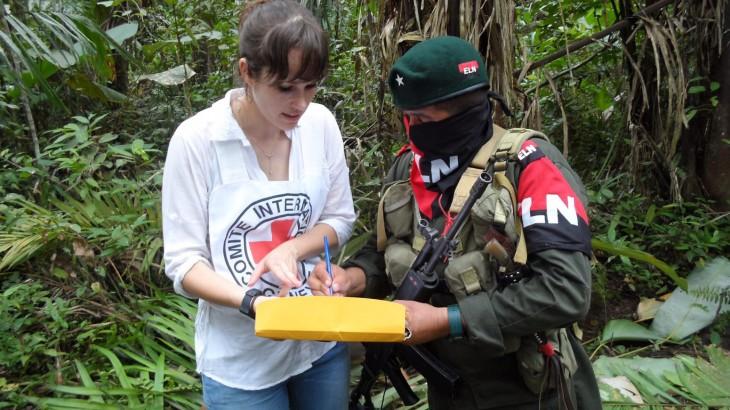 Colombia: liberación de dos personas en poder del ELN