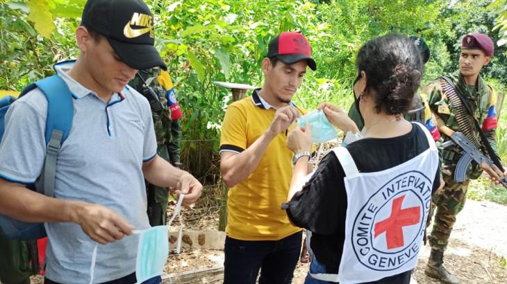 Colombia: liberados dos civiles en Norte de Santander