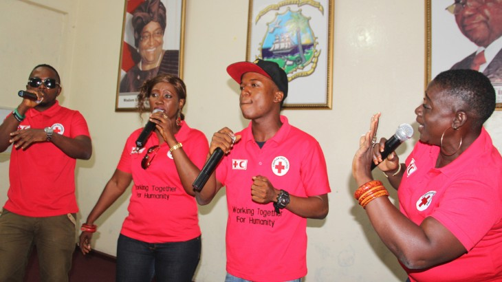 Liberia: Red Cross releases song in solidarity with Ebola survivors