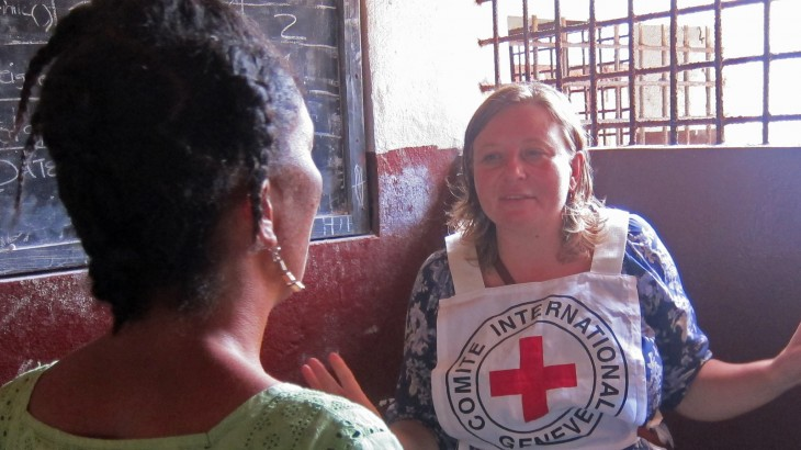 利比里亚:红十字国际委员会协助当局改善监狱服刑人员的居住条件
