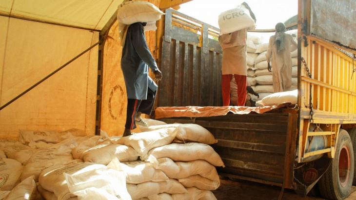 دارفور: توزيع المواد الغذائية والبذور والمعدات الزراعية على الآلاف الذين يعانون من نقص الغذاء