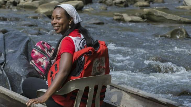 Lorena, la enfermera de las riberas chocoanas