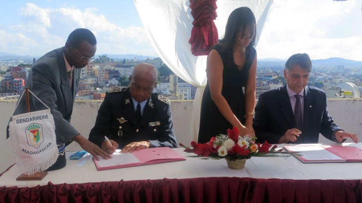 Madagascar: Agreement signed with policing authorities