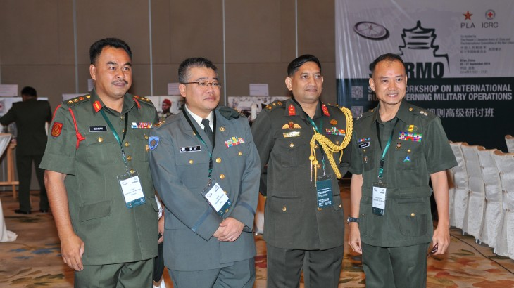 Malaysia: Exploring ways to incorporate the law of war into practical training
