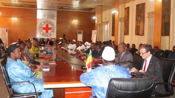 Mali : les parlementaires sensibilisés au droit international humanitaire