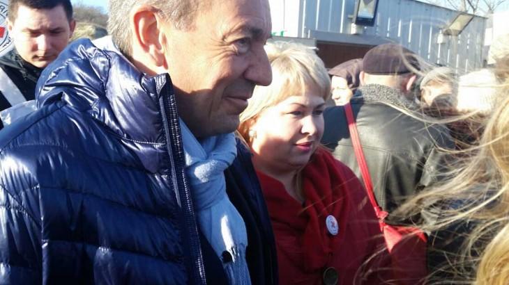 红十字国际委员会主席彼得•毛雷尔在乌克兰的一线日记