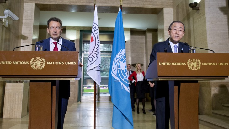 Un tournant pour la communauté internationale : Les dirigeants de l'ONU et du CICR lancent un avertissement conjoint