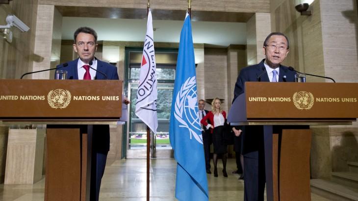 El mundo en un punto de inflexión: advertencia conjunta de la ONU y la Cruz Roja