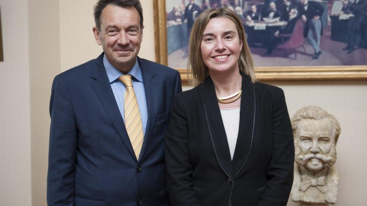 ICRC President meets Federica Mogherini on her first visit to Geneva as EU High Representative/Vice-President